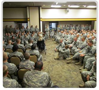 Public Speaking To Military And Civilian Audiences